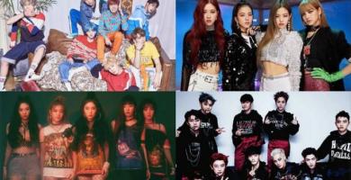 Los mejores artistas de K-pop en este momento