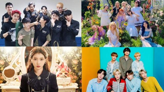 Top 10 grupos de K-pop