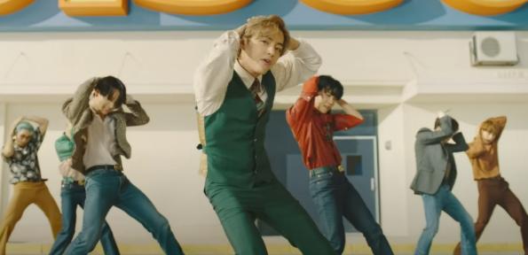 Dynamite frangmento de la canción BTS